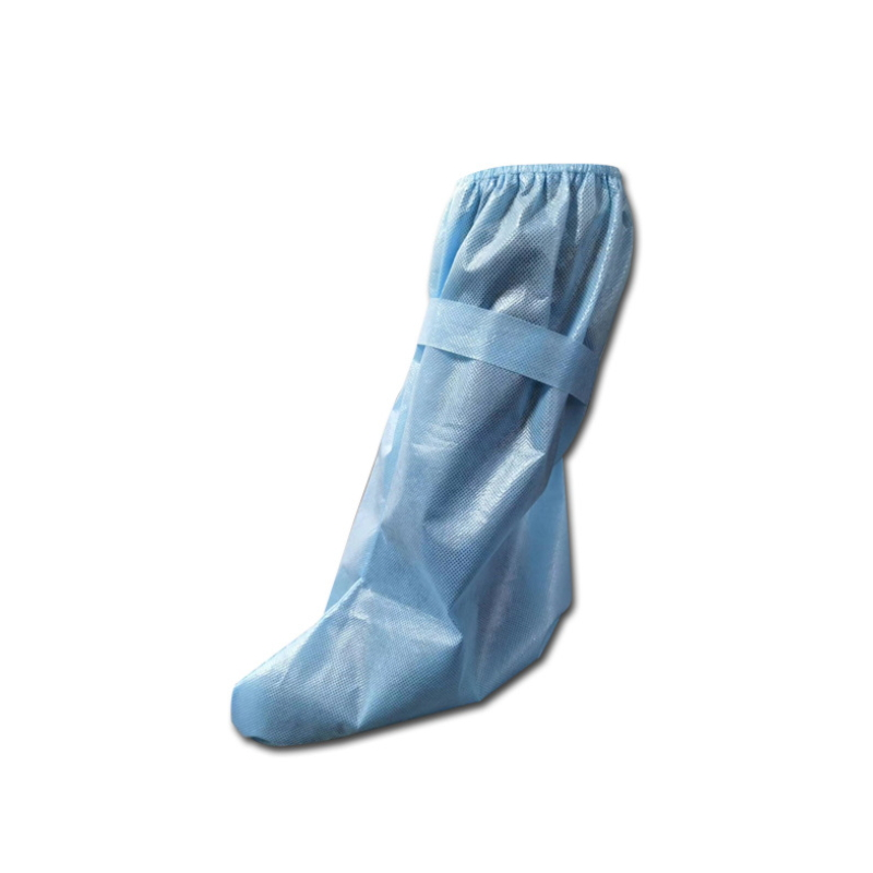 Disposable waterproof medical isolation shoe cover