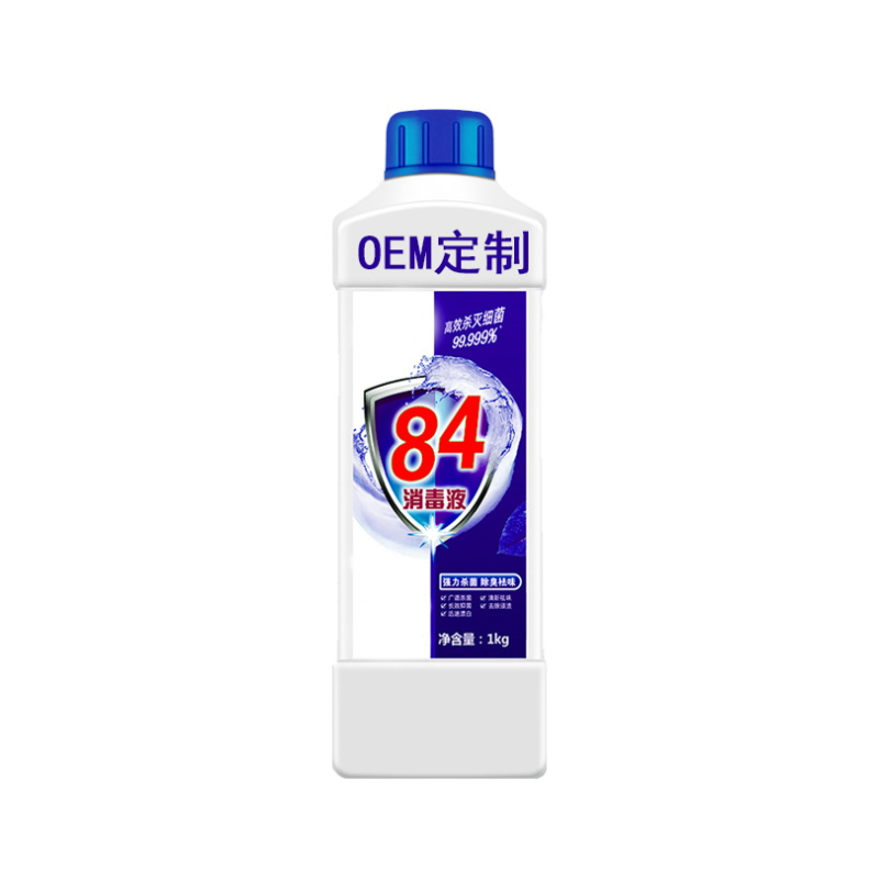 1L Bleach 84 Disinfectant OEM Disinfection Custom Disinfectant
