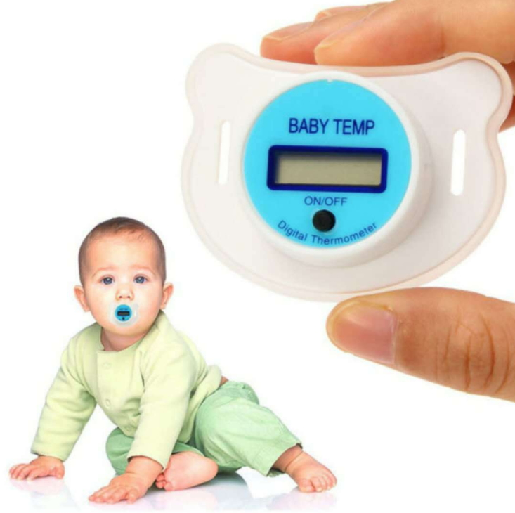 Baby Pacifier Thermometer Digital Display Household Wholesale