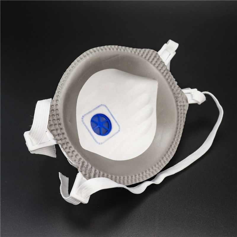 OEM Disposable Pm25 Dust Mask Ce Ffp3 Approval Mask with Exhalation Valve Personal Protective Equipment