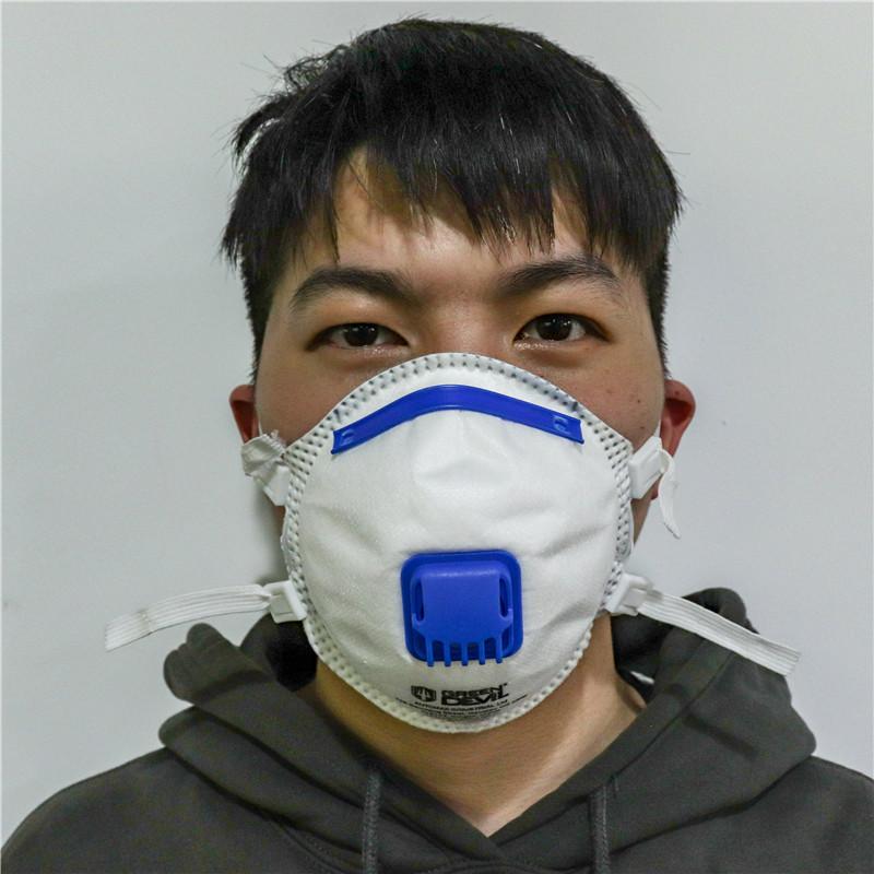 Non-Woven Fabric Breather FFP3 Dust Mask Anti-Mite Pm2.5 Labor Protection Mask