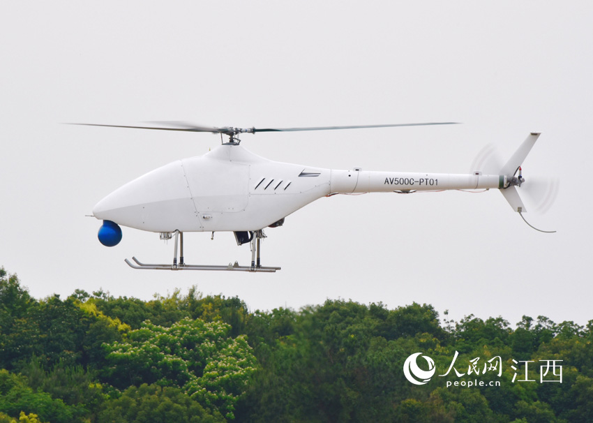 First high-altitude unmanned helicopter in China completes maiden flight