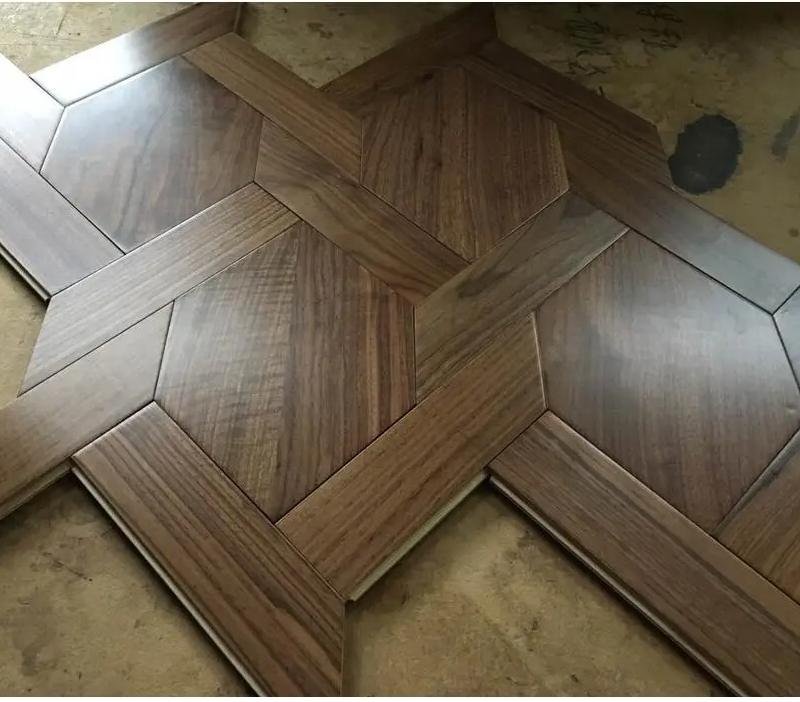 Fudeli Special Art Parquet Multi-Layer Engineered Lacquered /Oil Wood Floor