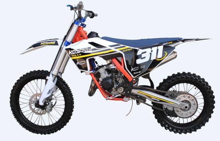 2 Stroke 125cc 6 Gears Motocross Dirt Bike Crosscountry Motorcycle with Ce