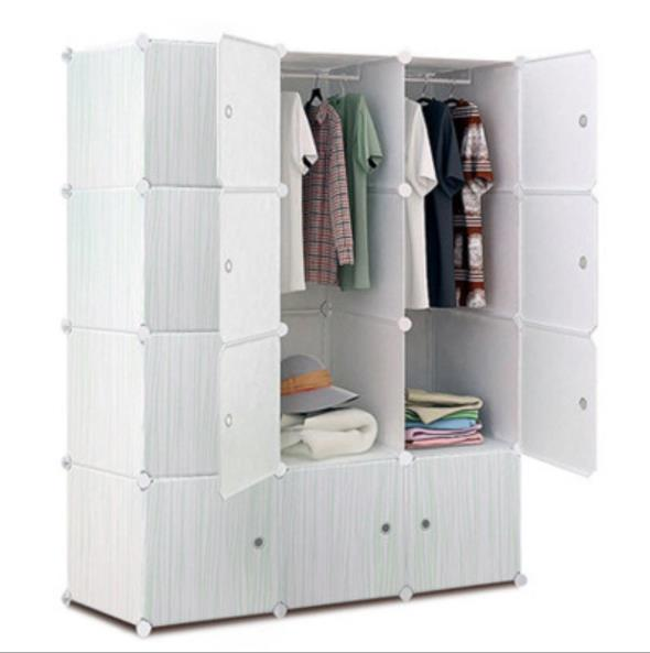 Hot-Selling Bedroom Large Capacity Multifunctional Wardrobe with Pattern