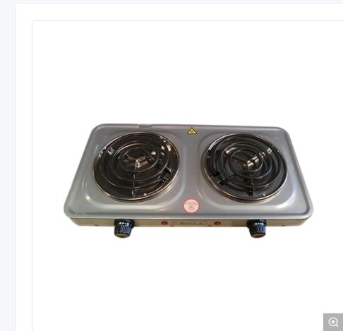 Two Plates, Iron Screw, Hot Plate Hy2000A