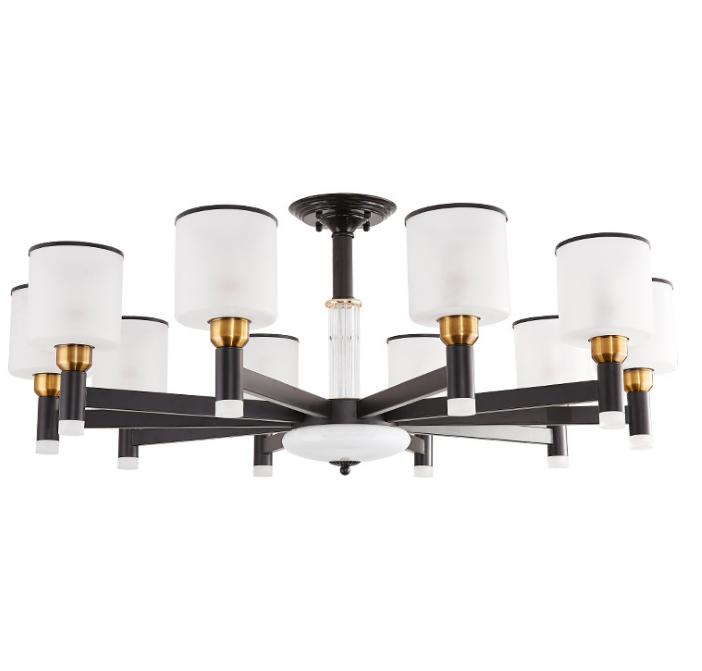 Nordic luxury creative modern minimalist led living room pendant chandeliers lamp