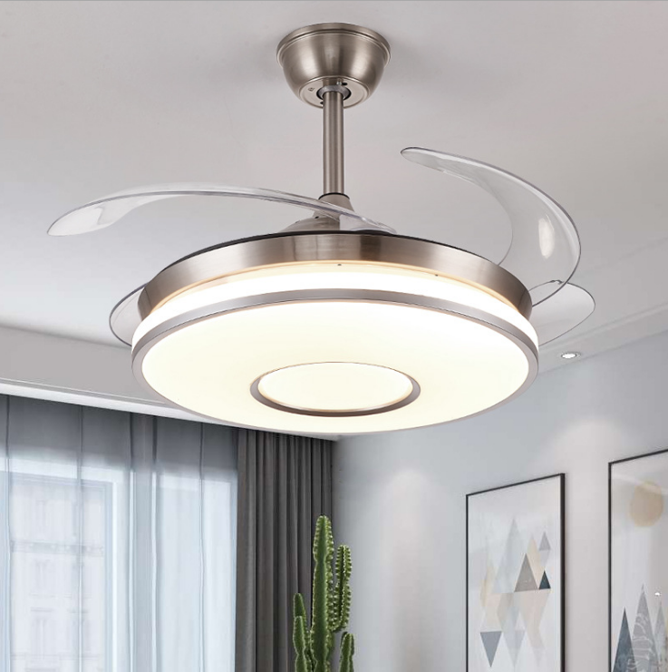 Professional Manufacture LED Ceiling Fan with Lamp