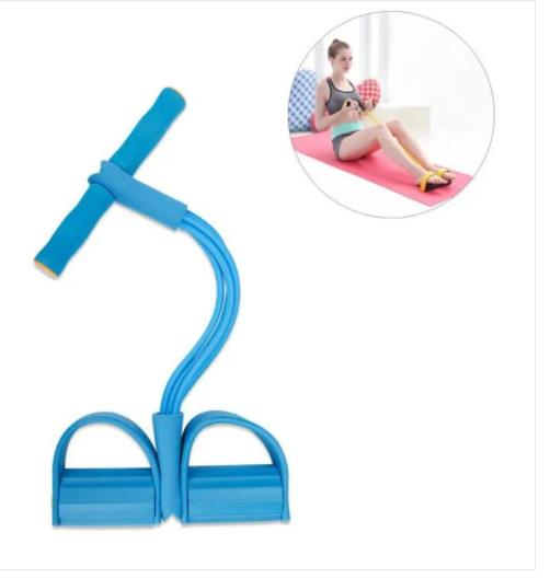 Yoga Pull Rope Abdominal Spring Exerciser Sport Fitness Crunches Rope