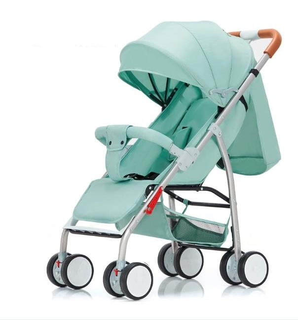The Stroller Is Super Light and Easy to Fold and Sit and Hot Mom Baby Stroller
