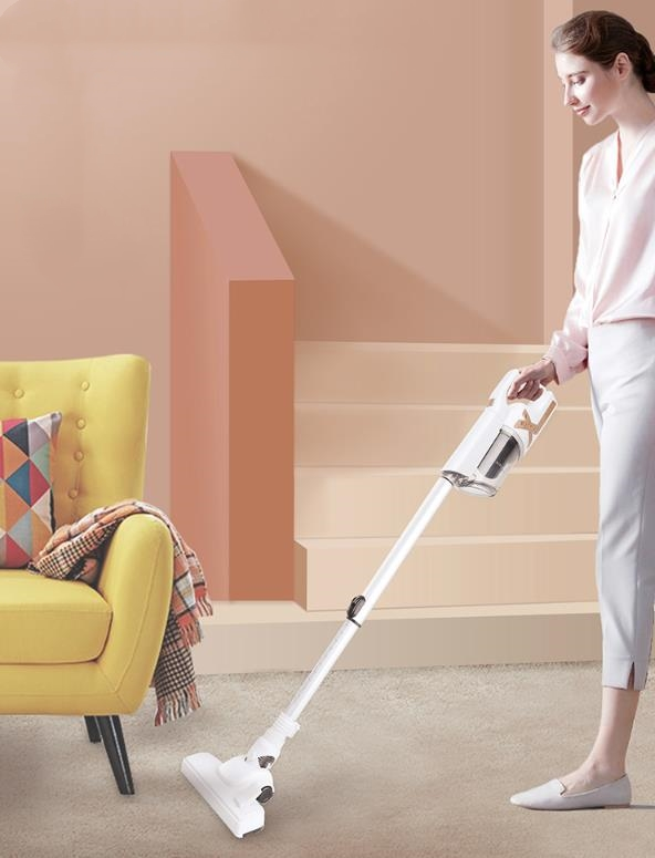 Cordless Handheld Vacuum Cleaner Household Mite Removal Small Vacuum Cleaner