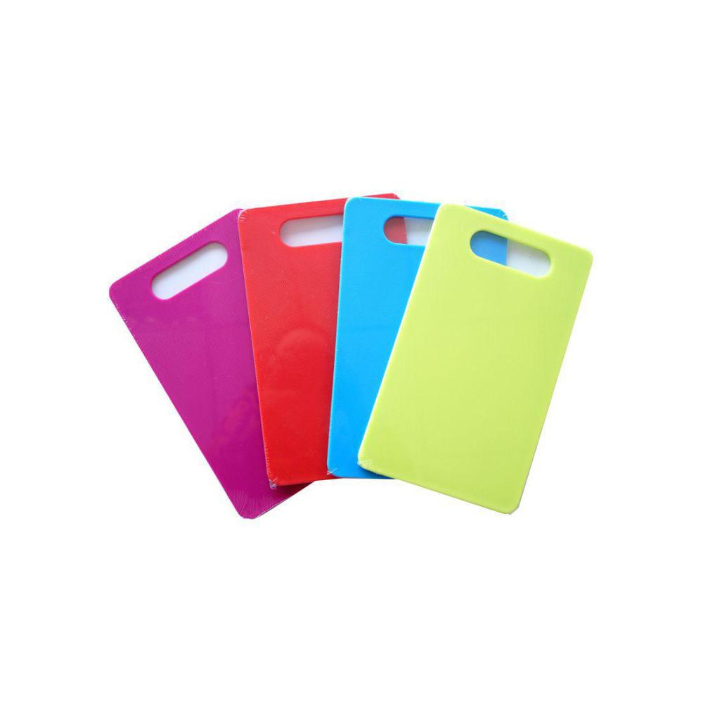 Plastic choping board Colorful cutting board