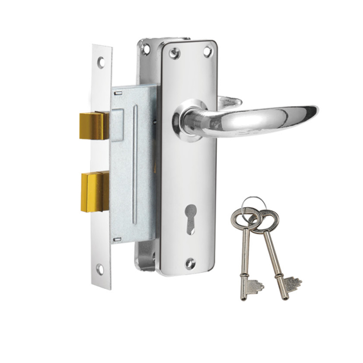made in china high quality mortise lock set for export 910-3495-CP