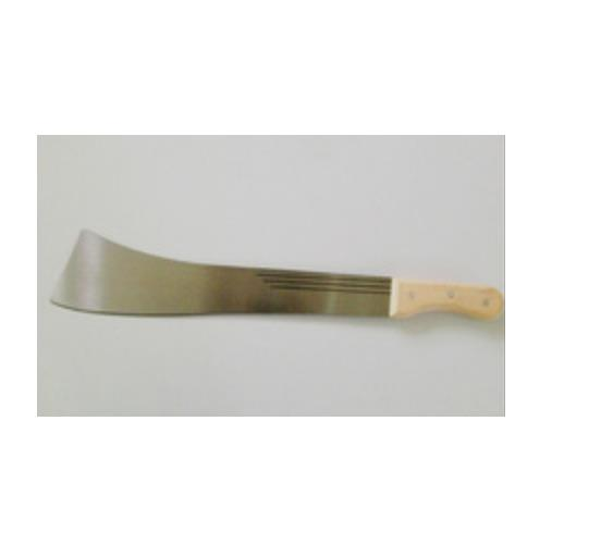 Machete or Matchet with plastic or wooden handle