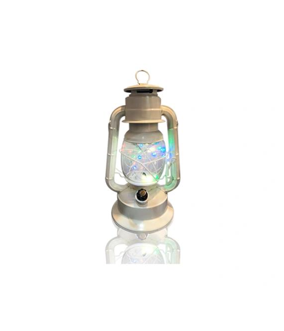 24.5cm, Color Painted, Battery Operated, Twinkle LED Lantern