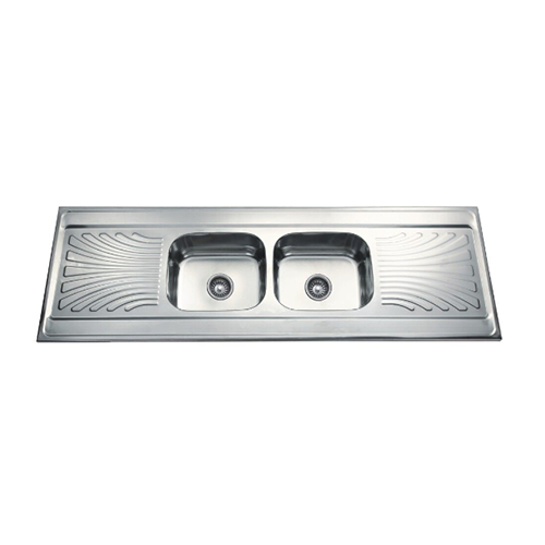 Double Bowl Double Drainboard Series DD18060