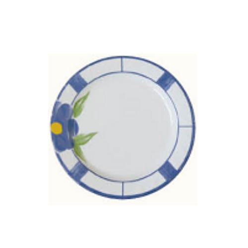 Customized Unbreakable Hotel 100% Melamine Dinnerware Flower Printing Tray Plate 13011