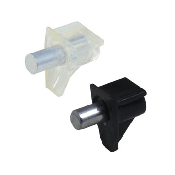 metal pin with plastic cap of shelf support 462209