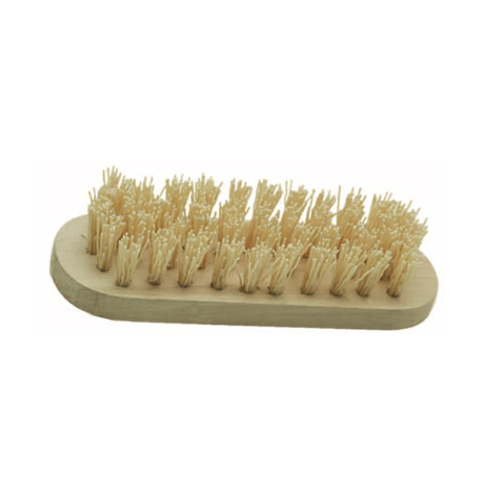 wooden handle boar bristle cleaning brush FB-002