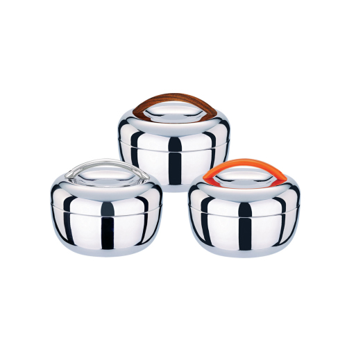 Stainless Steel Apple Shaped Lunch box QL-2004