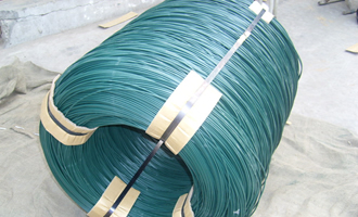 pvc coated iron wire for wire mesh AYW-002