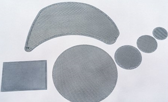 Stainless Steel Woven Wire Mesh Filter Disc AYW-013