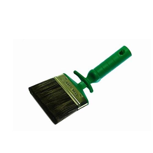 Plastic handle angled block paint brush WY-001