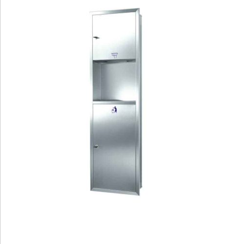 recessed towel dispenser/waster receptacle   GSG63A