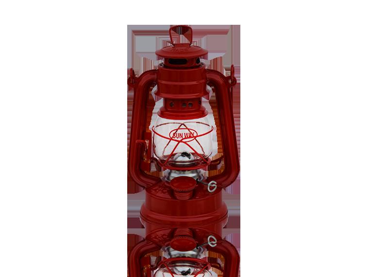 245 RED CHANGEABLE BRIGHTNESS LED LANTERN