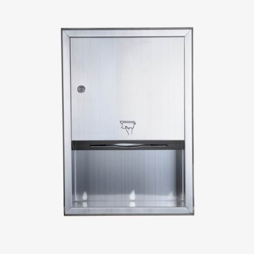 Stainless Steel Center Pull Paper Towel Dispenser  WS-718A