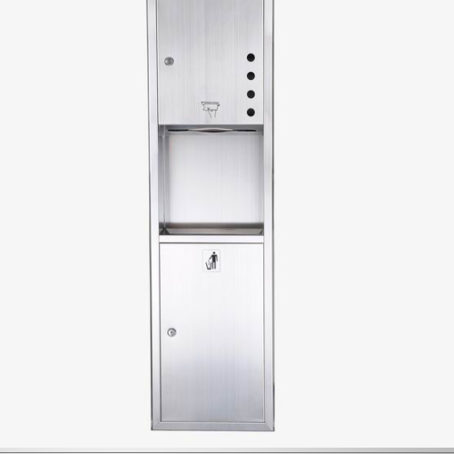 Stainless Steel Recessed Paper Towel Dispenser  WS-728C