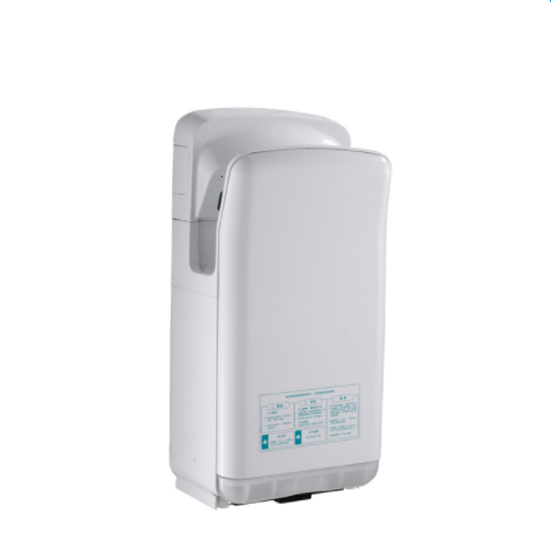 Wall Mount Quick Drying High Speed Brushless Motor Plastic Jet Air Hand Dryer WS-W666