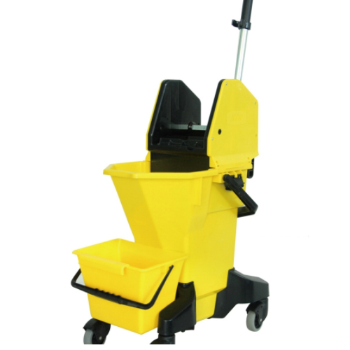 Mop bucket with wringer and buildin grid filter   0320100240001