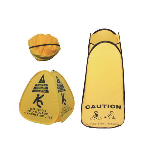 Pocket Pop-up floor safty cone sign 16inches   06302
