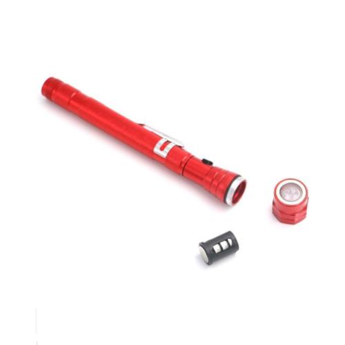 Telescopic Flexible flashlight Magnet head Pick Up Tool LED Flashlight XZY-L1009