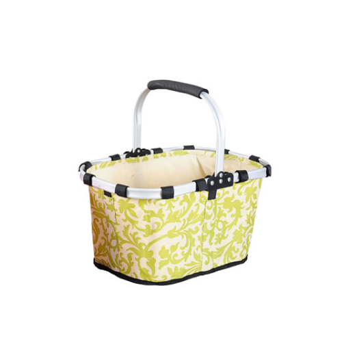 Foldable market shopping basket  1322