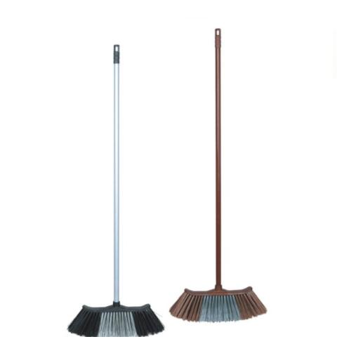 Hot sell long handle  plastic hard broom bristle KX-705