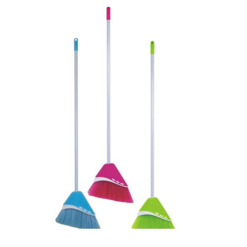 Plastic Broom with handle  KX-781