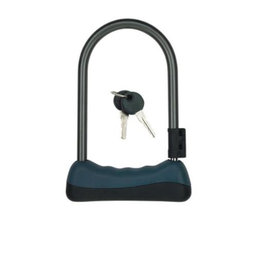 Bike Lock Alloy Steel 2 Keys Motocycle Bicycle Accessories U Lock 82103