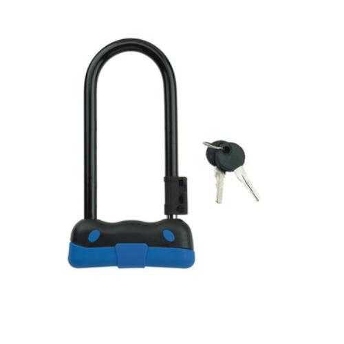 Bike Lock with 2 Keys Bicycle Cycling Accessories Motocycle U Lock 82104