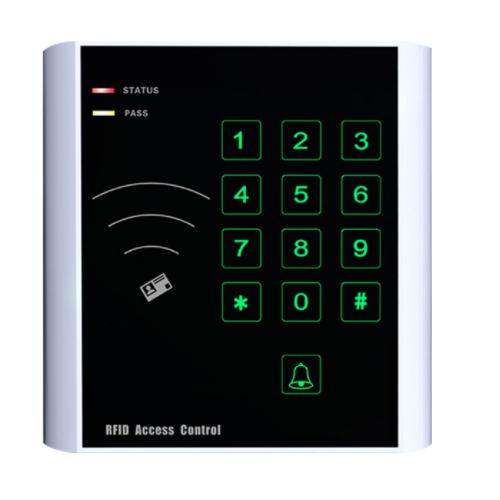 CU-K25 Touch Keypad RFID Standalone Single Door Access Control
