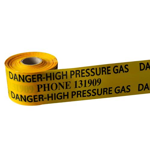 non detectable pe underground warning tape DSC0035