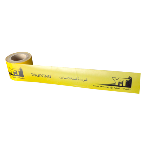 Non Detectable Underground Cable Warning Tape Plastic Barricade Caution Tape DSC0026