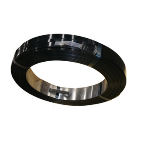 low price high strength pack steel strapping Black painted-6