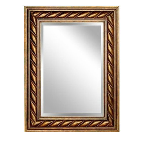 wall silver mirror with fashion    kj-6332