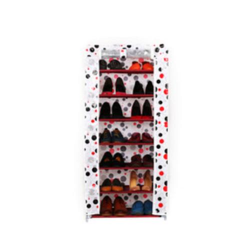 Folding Shoe Cabinet Modern DIY Shoe Rack FH A-7