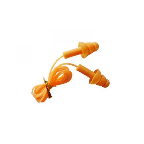 Free samples orange PU Foam Bell Shape Ear plug manufacturer earmuffs for sleeping EM-005