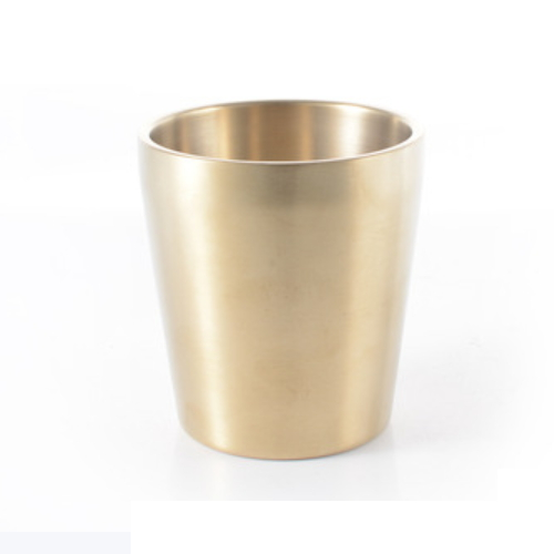 new product drinking cups stainless steel drinkware gold mug for family JB1
