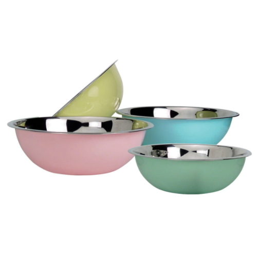 Reusable Stainless Steel Take Away Salad Bowl Made In China