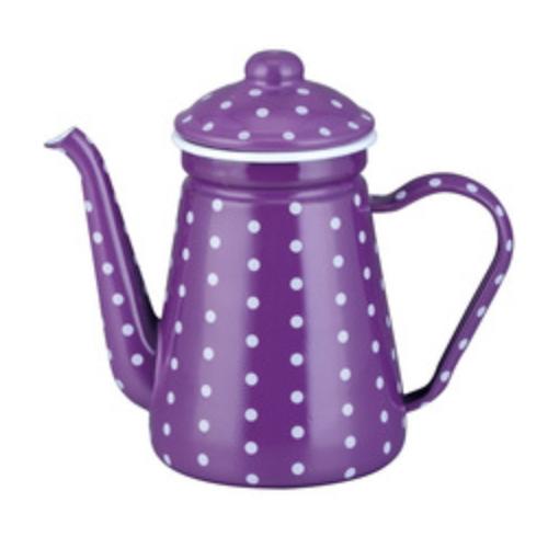 0.9L Enamel Coffee Pot Enamel Teapot Enamel Coffee Warmer Tk508EF